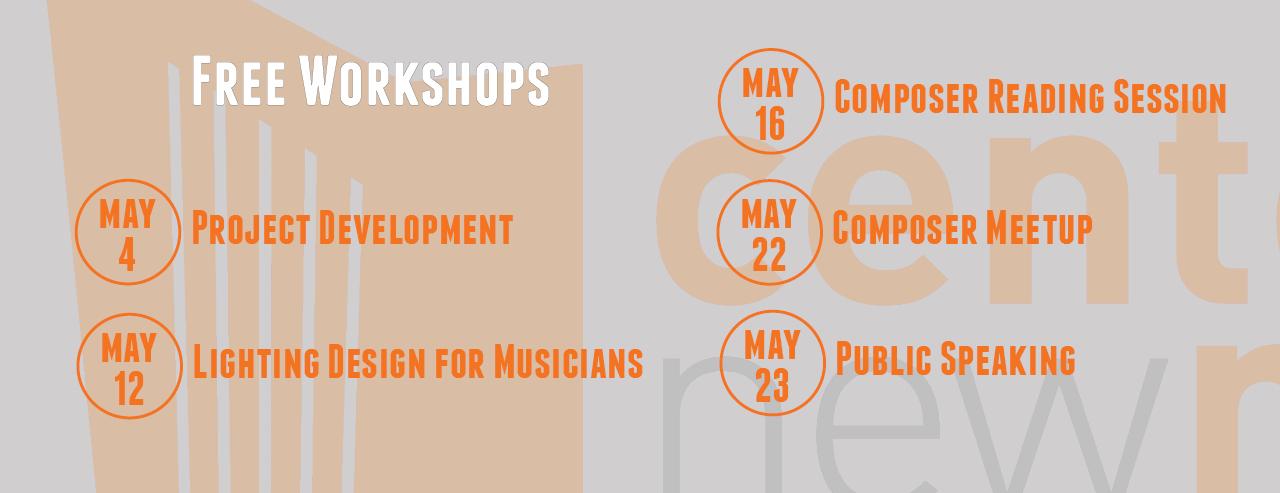 2017-05 Workshops