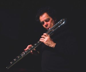 Flutist Robert Dick. Photo by Scott Friedlander.