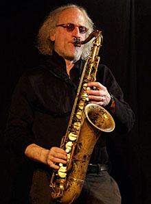 Saxophonist Larry Ochs