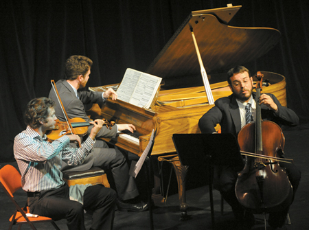 Trinity Alps Chamber Players. Photo by Phil Nelson.