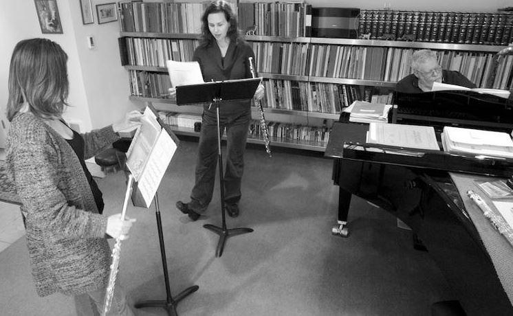 Alcyone Rehearsal