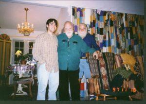 Schocker with Lou Harrison and Bill Colvig