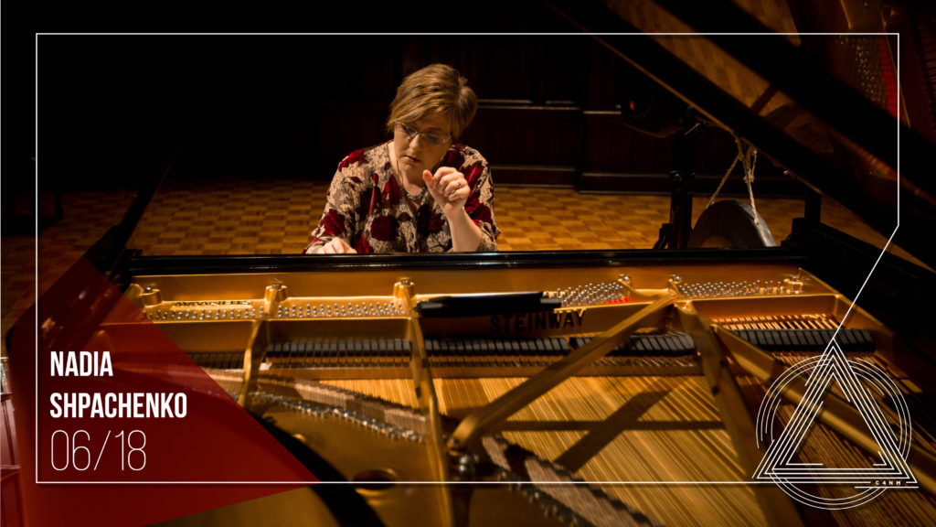 Center for New Music | Nadia Shpachenko: The Poetry of